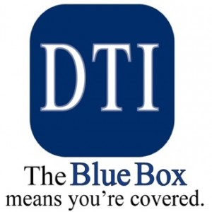 The Blue Box Means You're Covered!